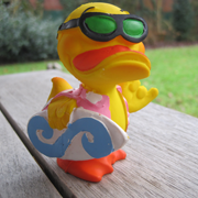 000977 | Surfer Duck